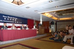 New World Group organizes a press conference to announce its 2009/2010 annual results