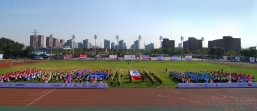 The opening ceremony of NWCL Second National Staff Sports Day