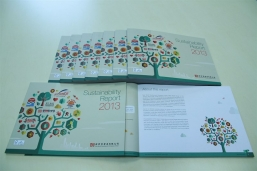 The Group's Sustainability Report 2013 allows stakeholders to have a firmer grasp of the Group's objectives and promises for sustainable development
