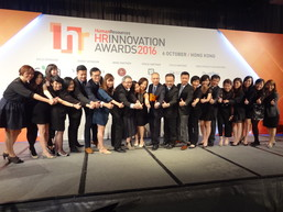 New World Development Company Limited took the top prize - HR Grand Winner - at the 