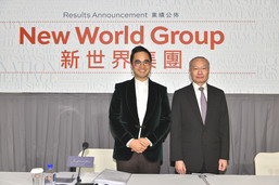 New World Group organizes a press conference to announce its FY2018 interim results