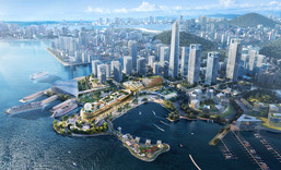 Located in the heart of GBA, the New World Group's Prince Bay Project in Shenzhen, which is with the 1.7-kilometre harbourfront promenade, is well positioned to be an international community with a total construction area of 1.7 million square metres. The project, which is scheduled for completion by stages starting from 2024, is poised to become a new and magnificent landmark on the Shenzhen harbourfront. (Rendering photo)
