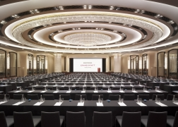 Newly Designed Grand Ballroom Unveiled At Grand Hyatt Hong Kong