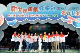 New World Group Fun Day draws Record-high of 8,000 Staff and Family Members