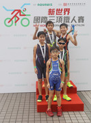 "New World International Triathlon 2014 Introducing a New ""Super Star Triathlon"" for junior contestants A strong field of about 400 international and local athletes compete in Tsim Sha Tsui East"
